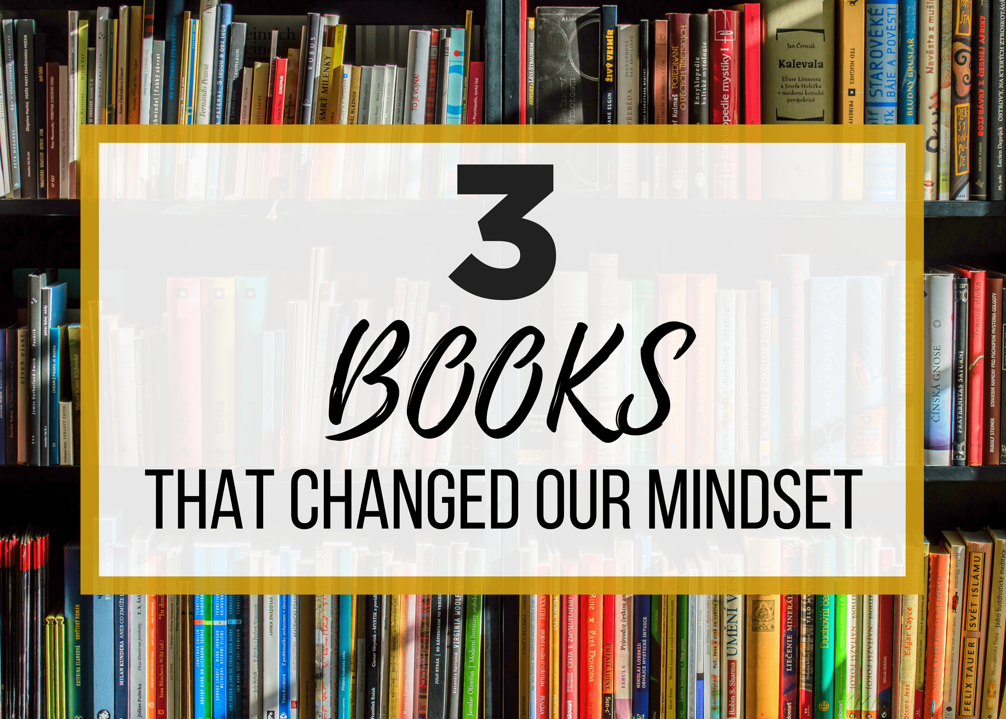 how to change my mindset